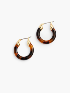 The Daily Hunt: Tiny Tortoise Hoop Earrings and More!