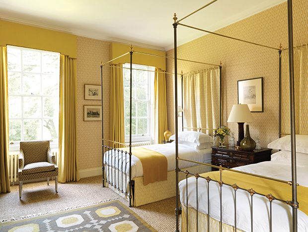 Veere Grenney Yellow Bedroom