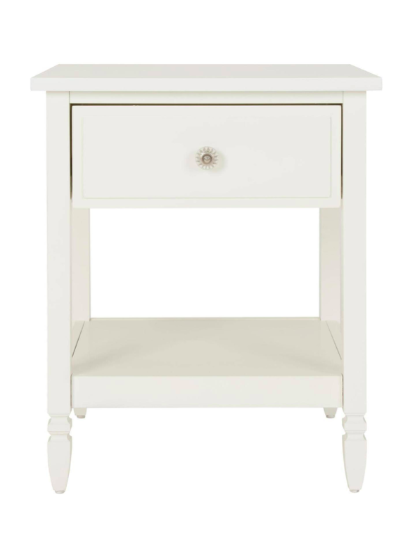 White Lillian Nightstand