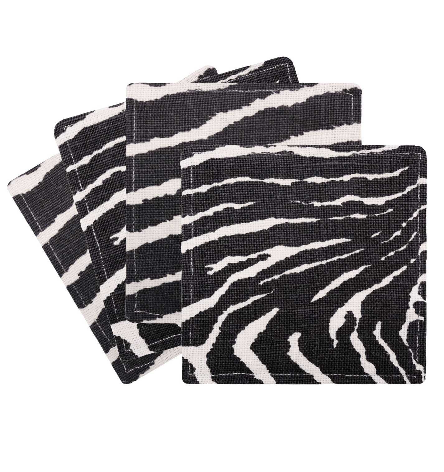 Zebra Print Cocktail Napkins
