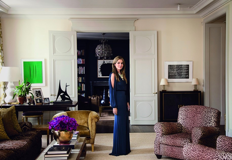 Aerin Lauder New York Apartment Living Room Neutral Palette