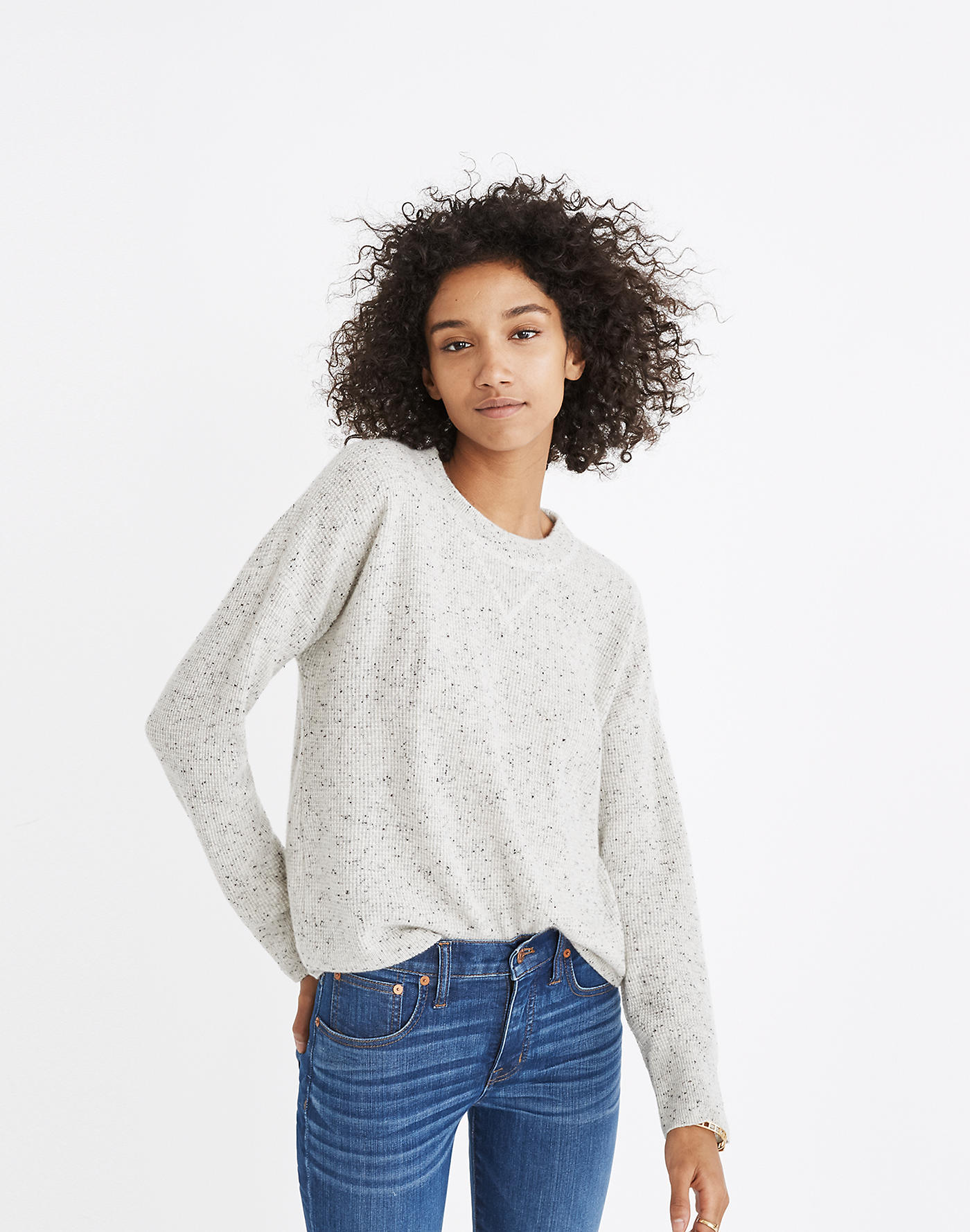 Ash Donegal Cashmere Sweater