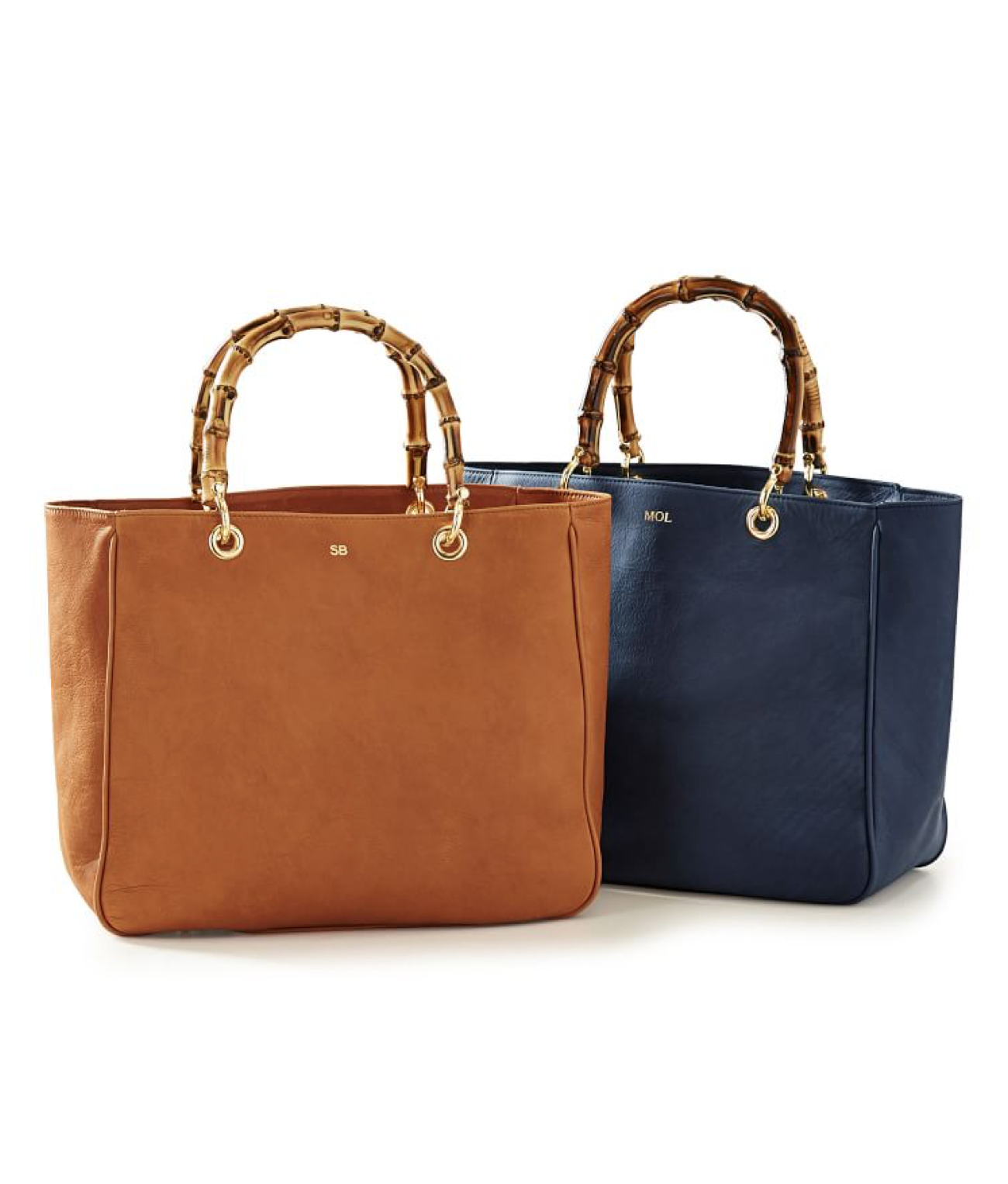 Bamboo and Leather Tote