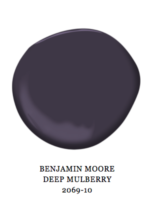 Benjamin Moore Deep Mulberry Dark Purple