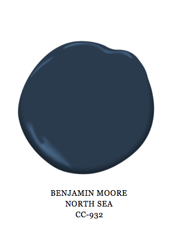North Sea paint color by Benjamin Moore CC-932