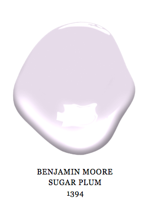 Benjamin Moore Sugarplum Paint Color Lavender