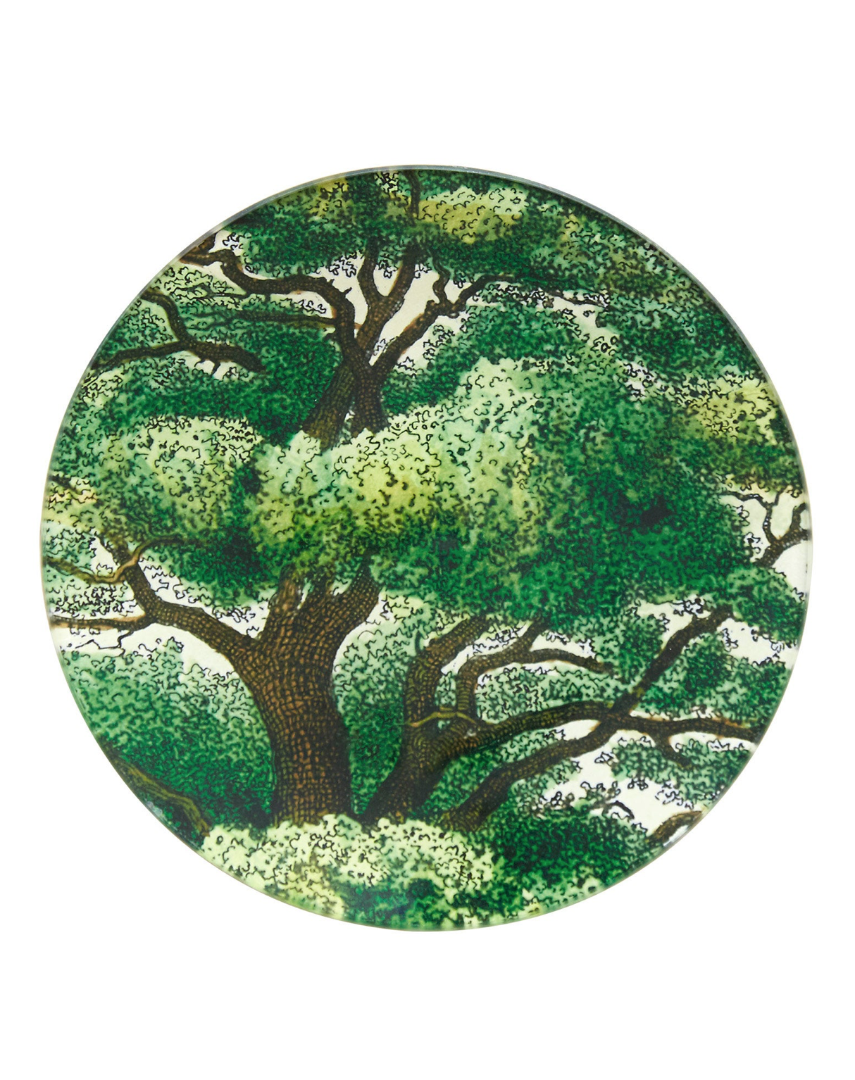 Leafy Branches Plate