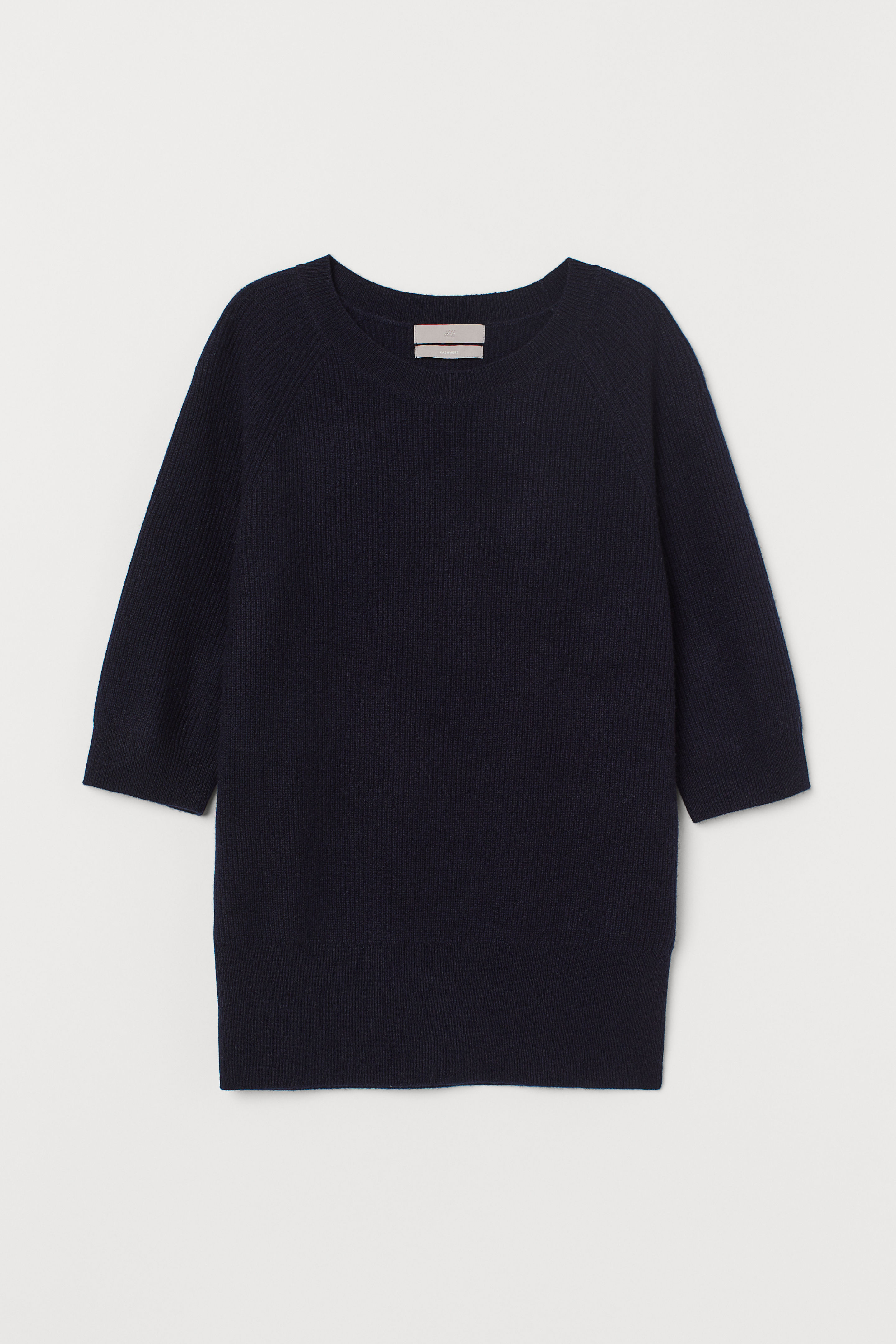 Short Sleeve Cashmere Sweater