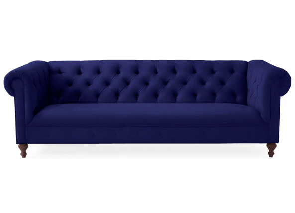 Chatham Sofa Serena & Lily Chesterfield Blue English