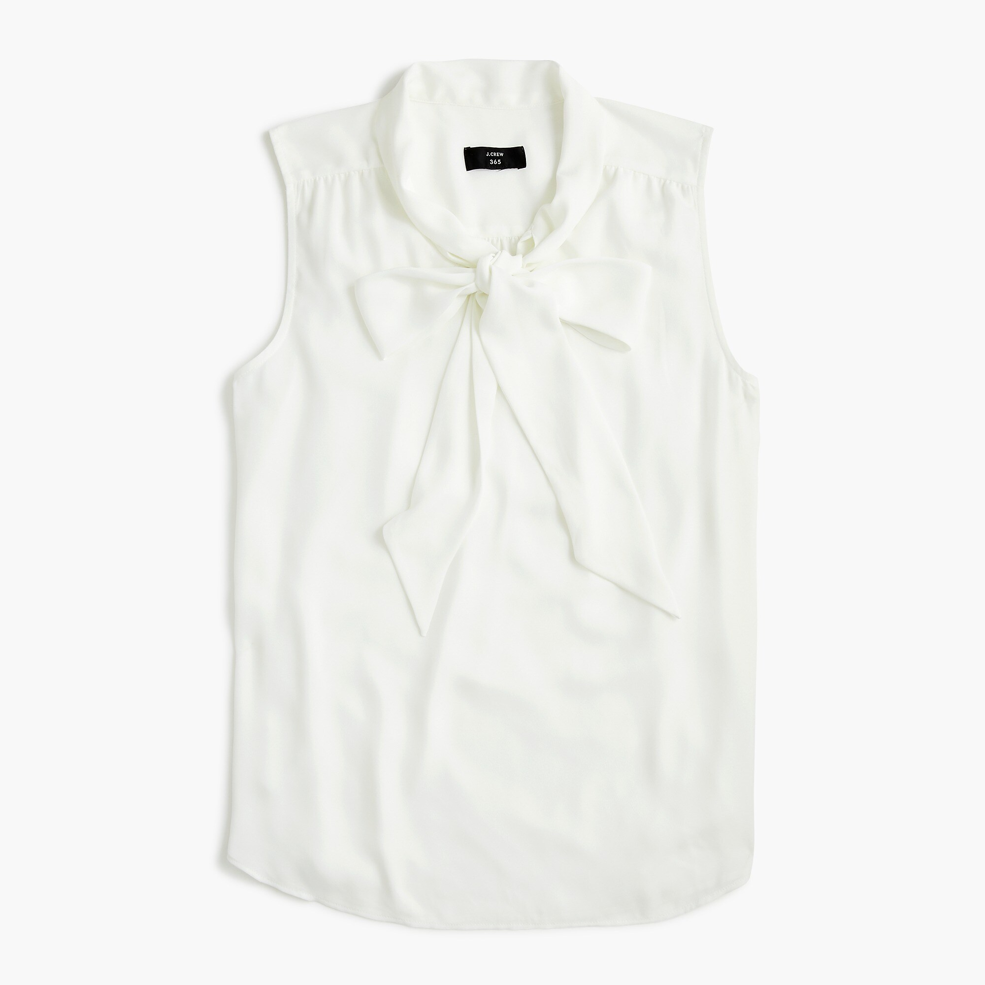 Drapey Tie Neck Sleeveless Top