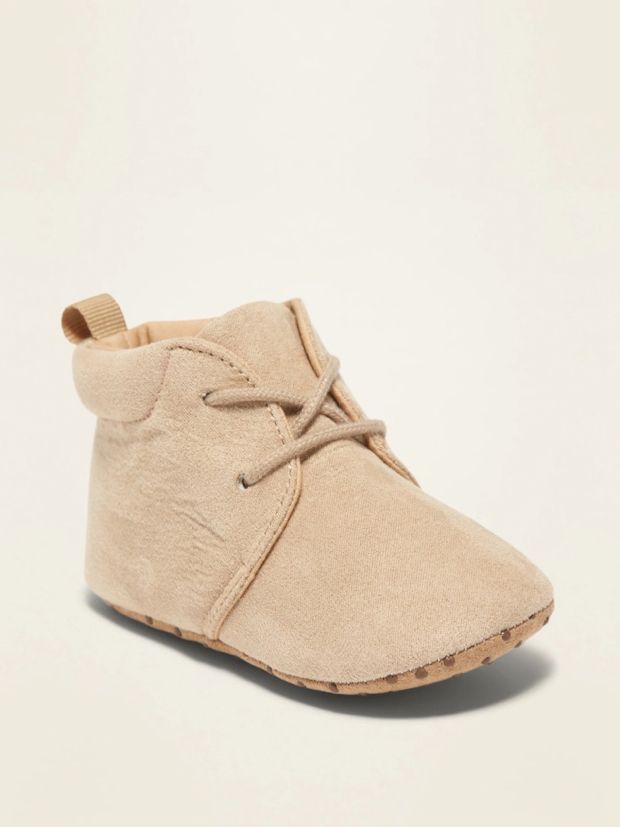 Baby Boy Faux Suede Desert Boots