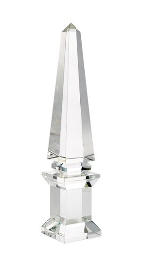Glass Crystal Obelisk