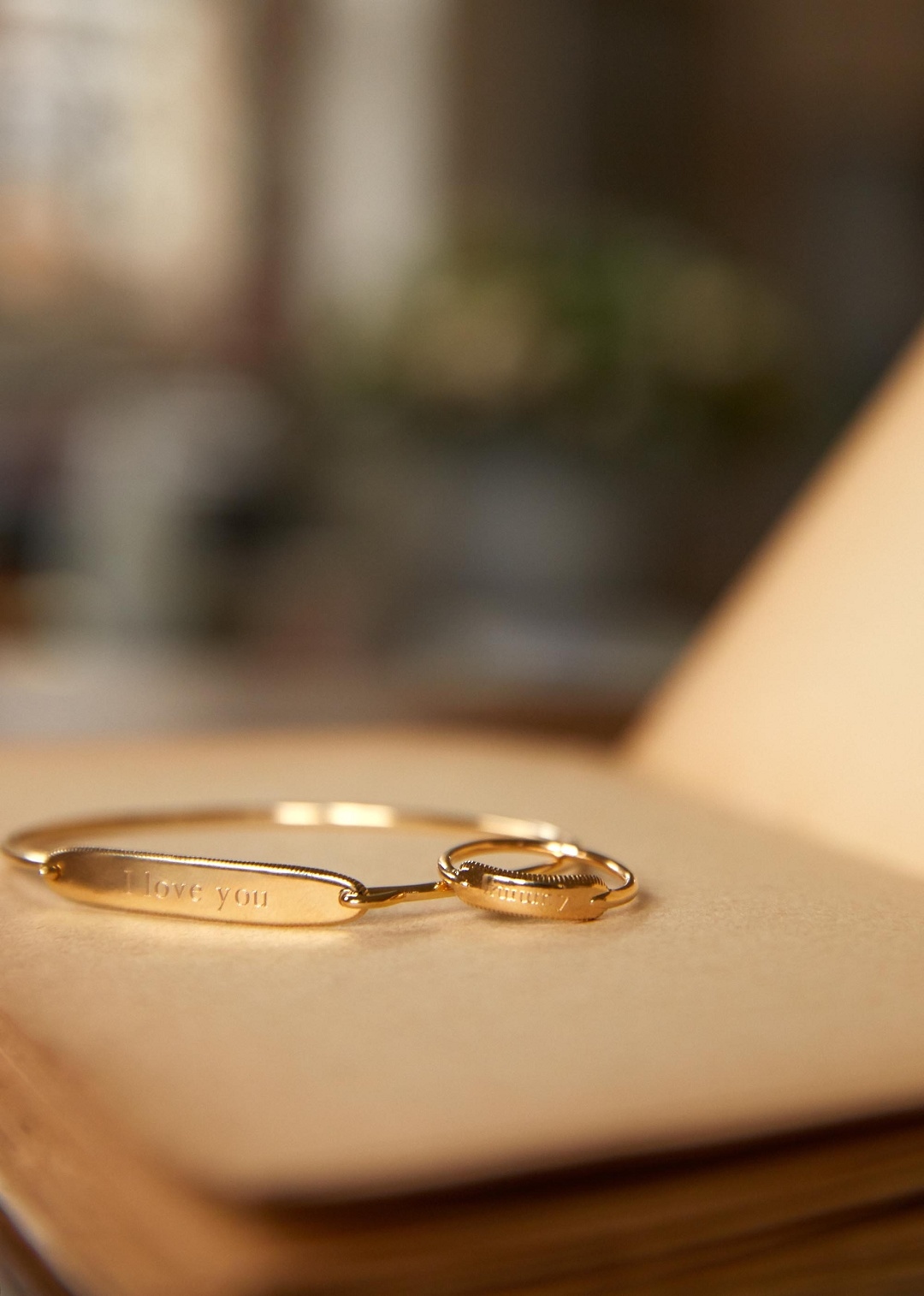 Gold Plated Customizable Ring