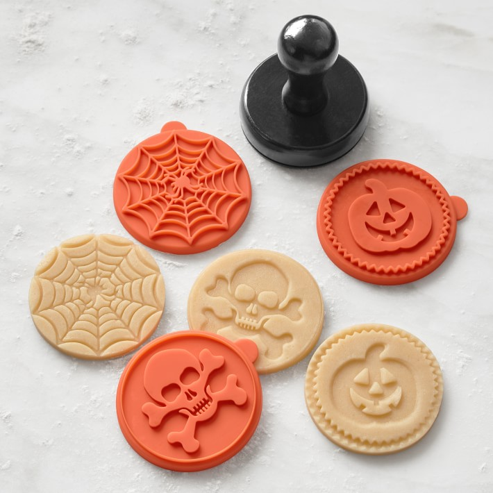 Halloween Silicone Cookie Stamps