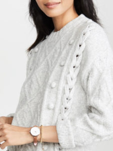 The Daily Hunt: Cozy Ribbed Knit Sweater and more!