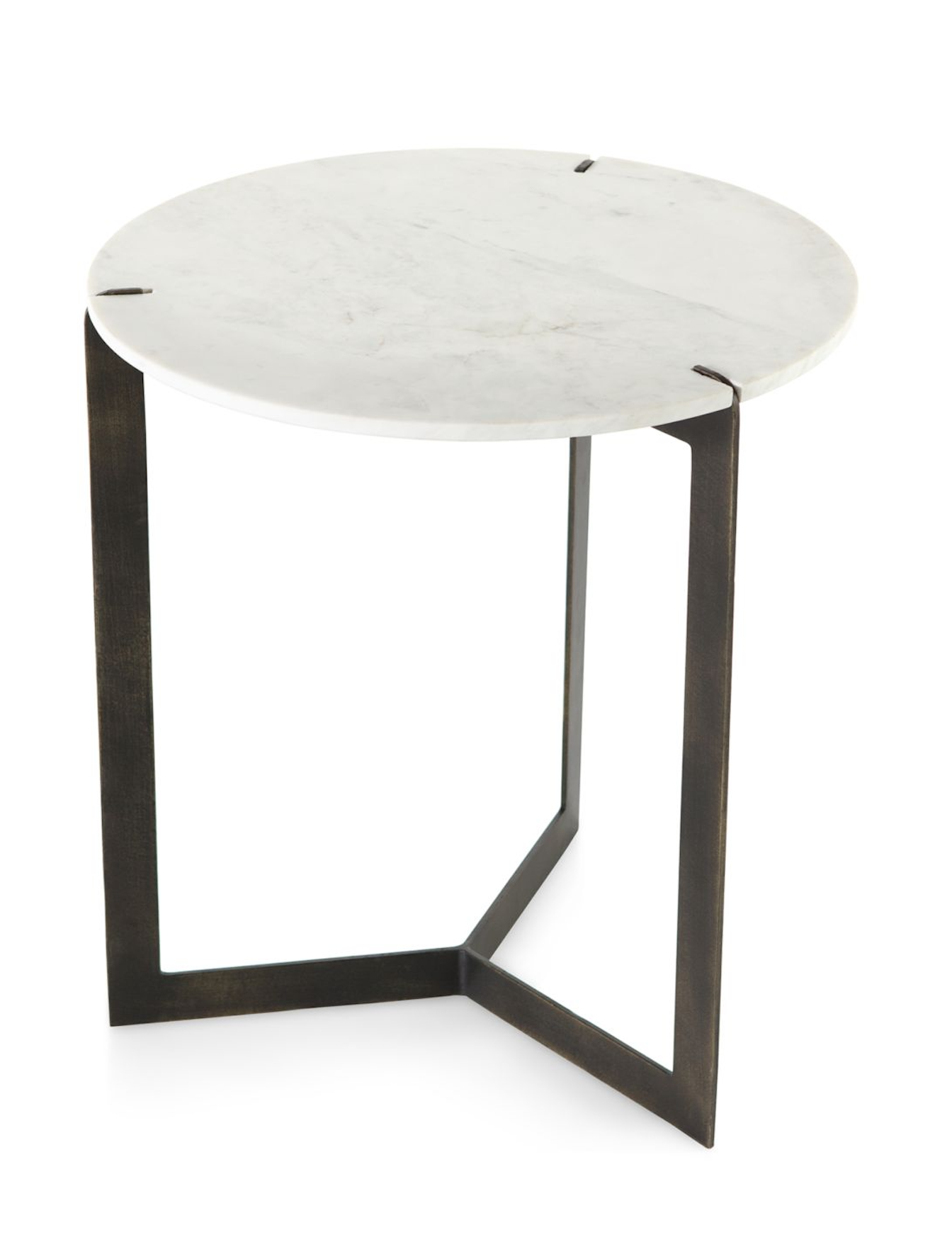 Marble Round Top Table