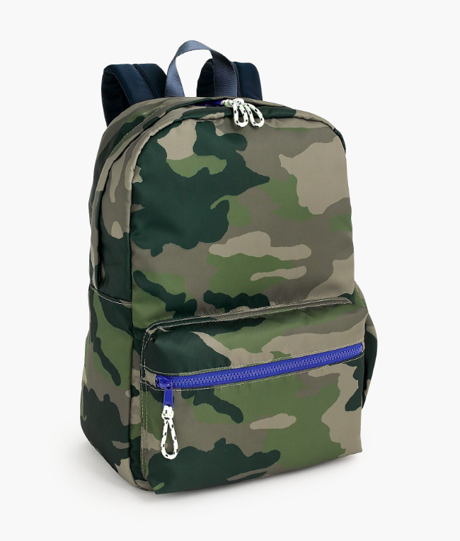 Kids' Camo Print Backpack