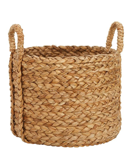 Large Round Log Basket