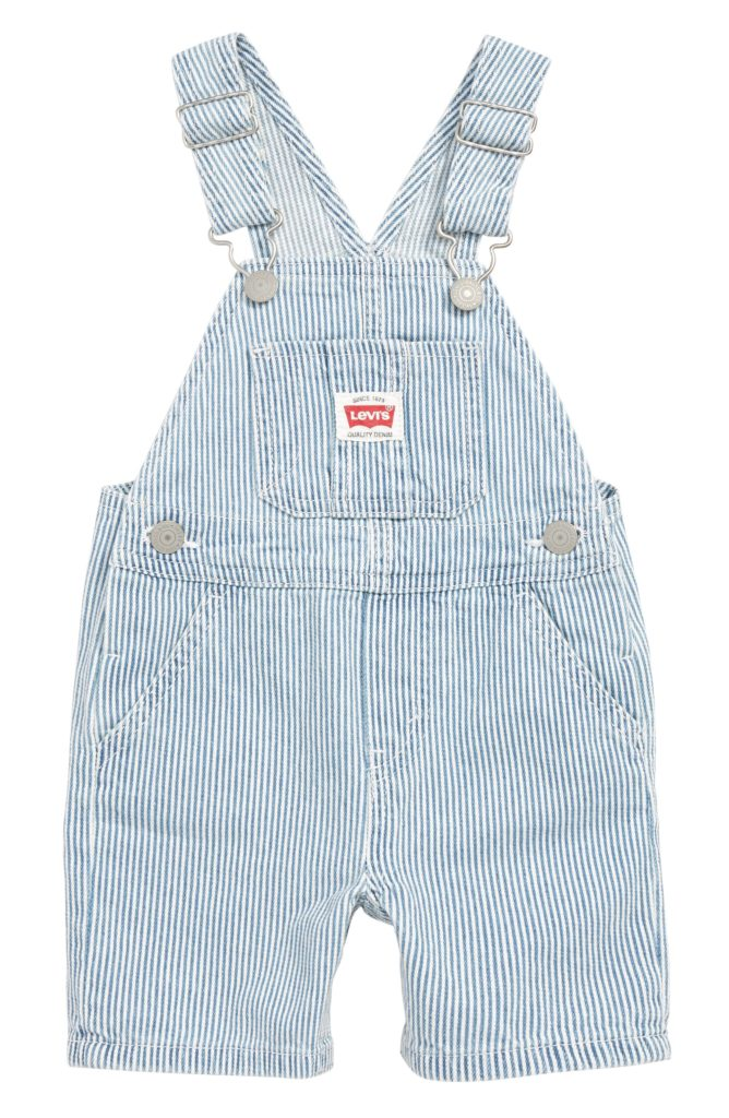 Levi's Denim Overalls Stripe Baby Toddler Boys'
