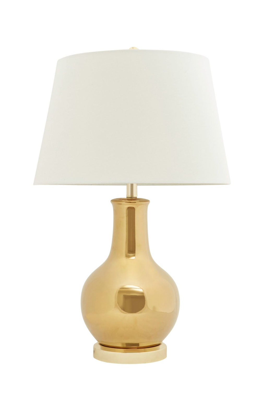 Gold Gourd Shaped Table Lamp