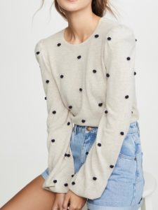 The Daily Hunt: Pom Pom Cashmere Sweater and More!