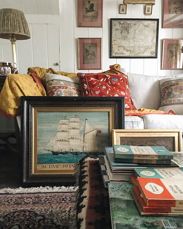 Sean Anthony Pritchard English Country House Decoration Living Room