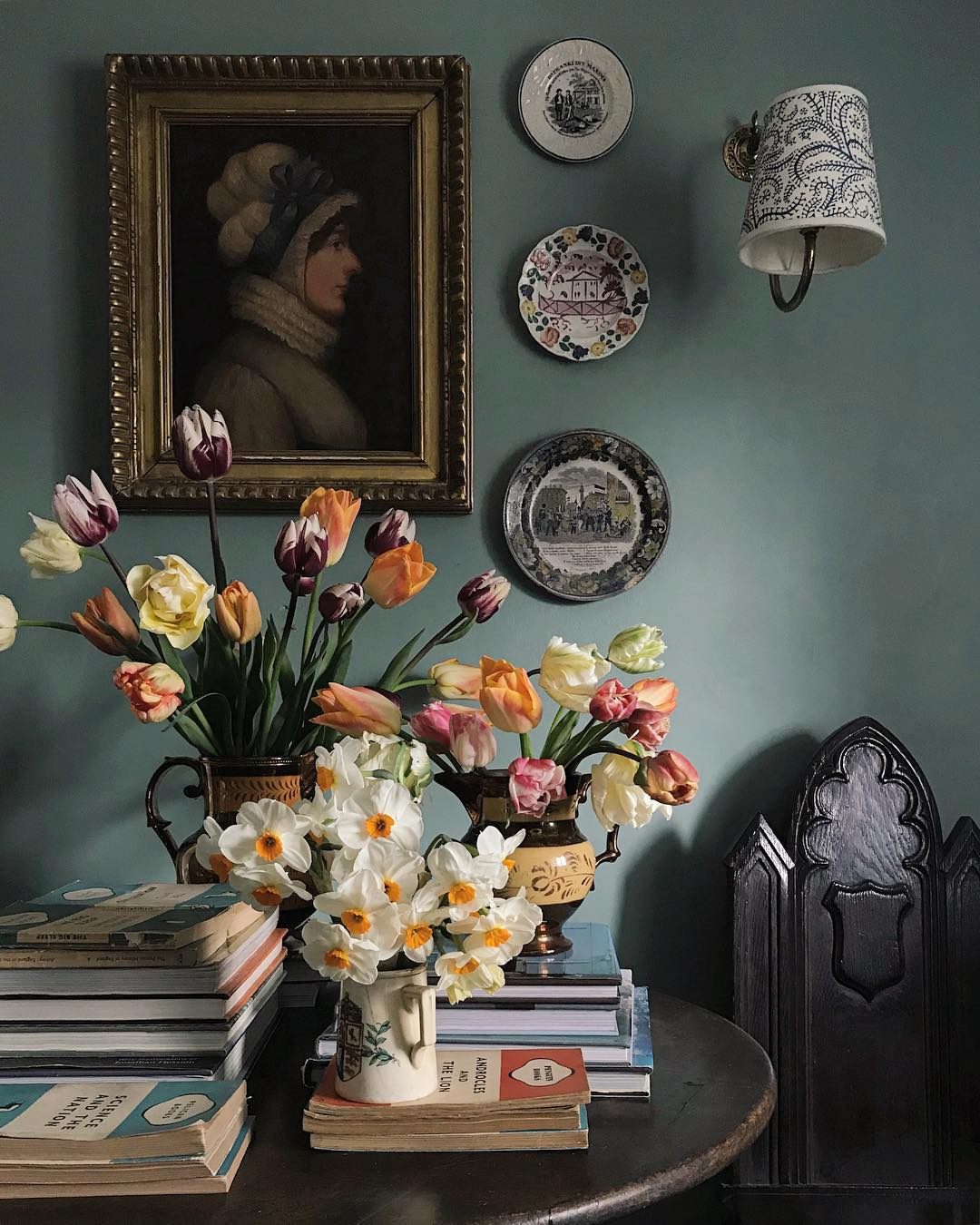 Sean Anthony Pritchard Daffodil and Tulip Bouquet