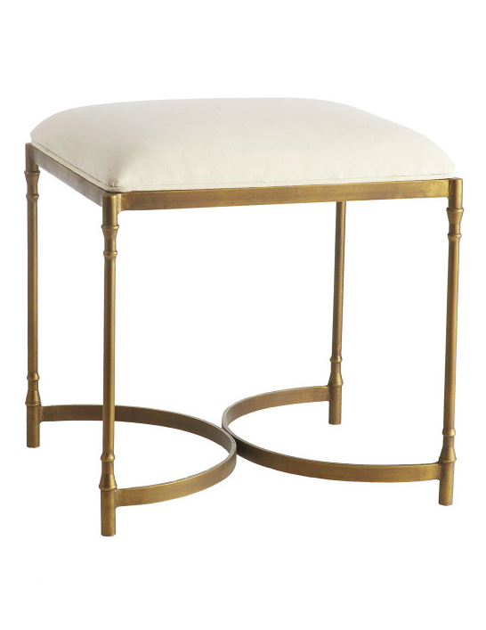 Small Brass Stool