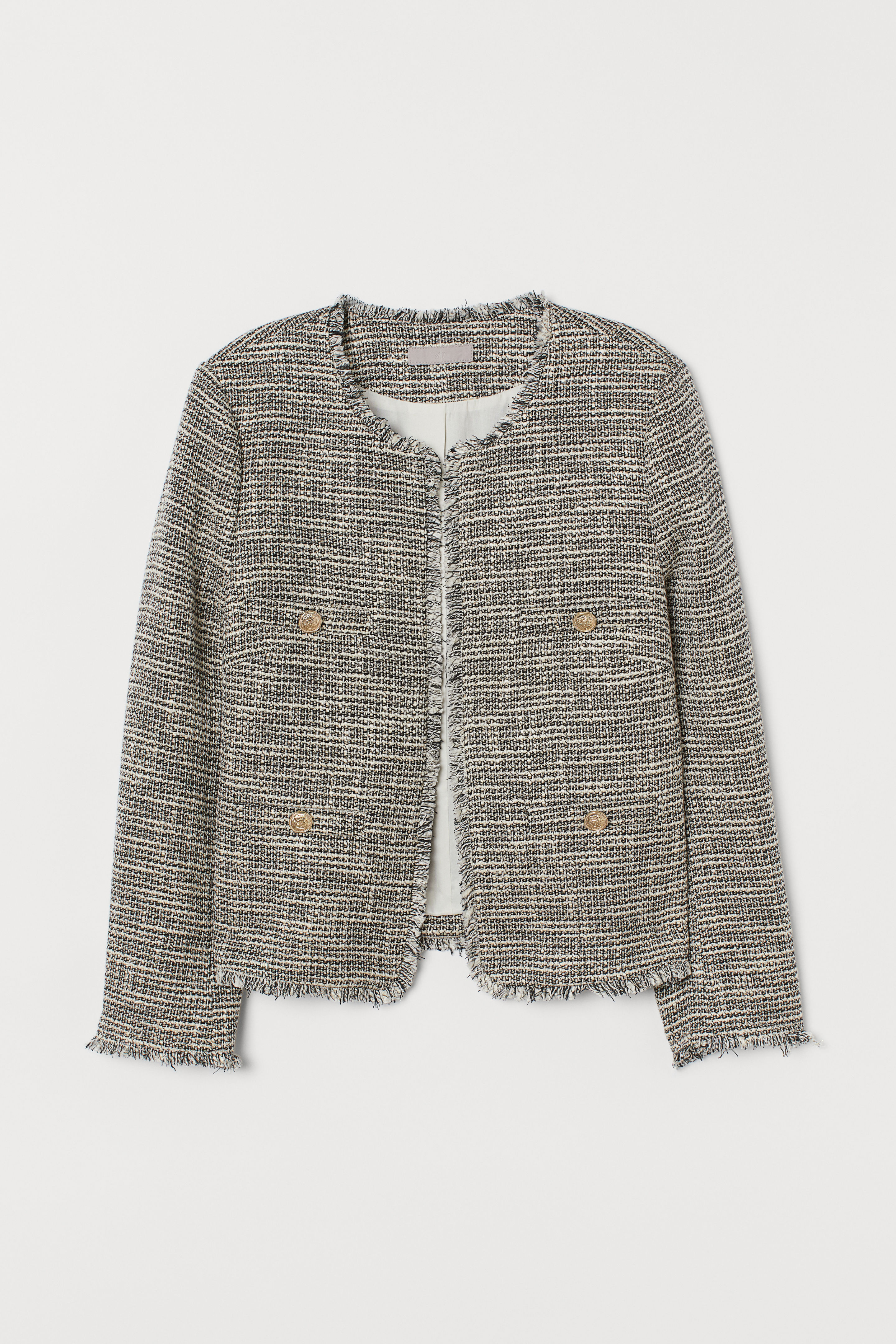 Textured Weave Jacket