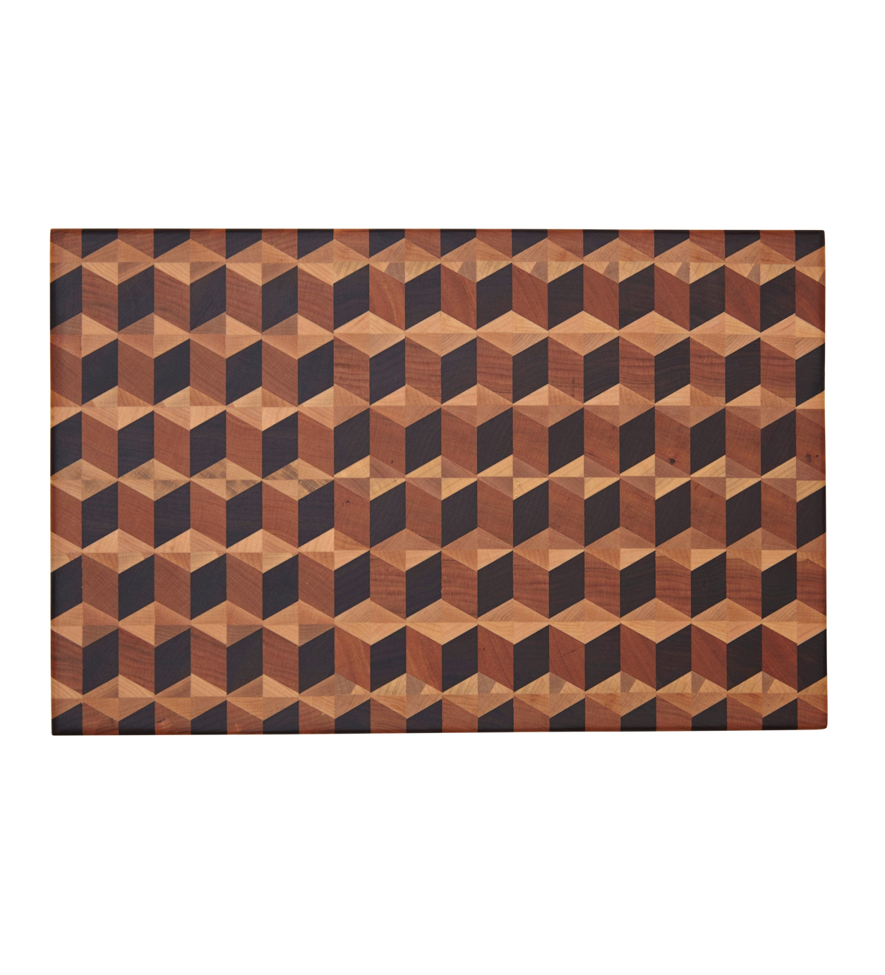 Geometric Patterned Block Board