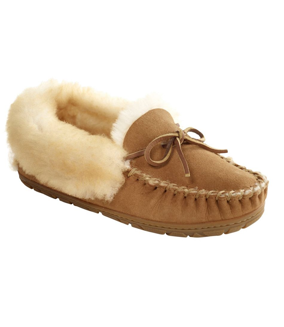 Furry Moccasins Slippers