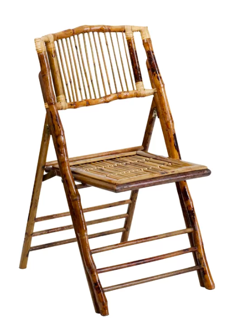 Wood Bamboo Folding Chairs