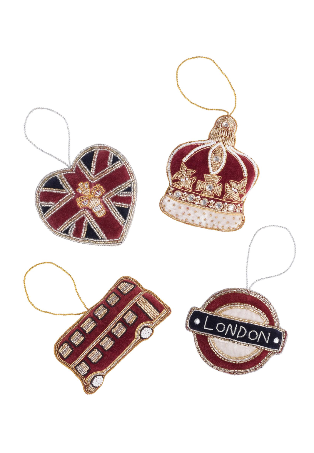 UK Icon Ornaments Set