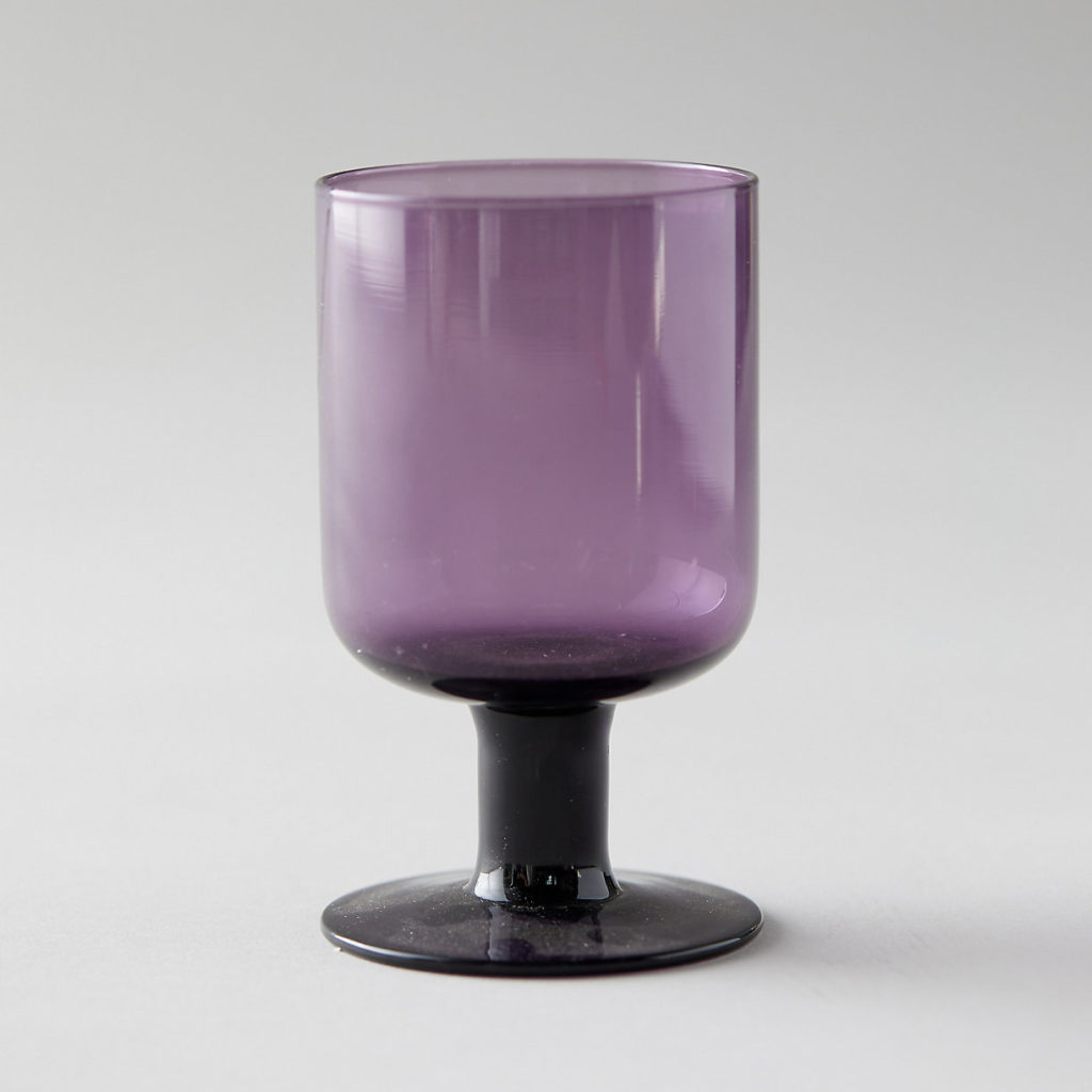 Bloom Wine Glass Purple