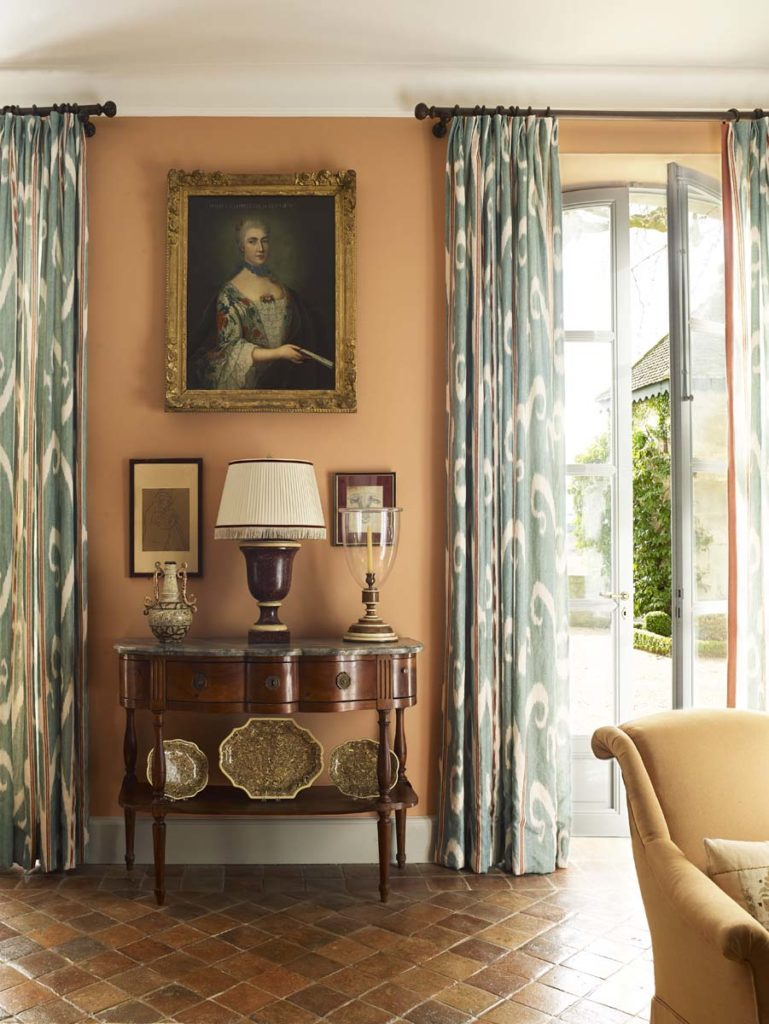 Cathy Kincaid The Well Adorned Home Ikat Curtains