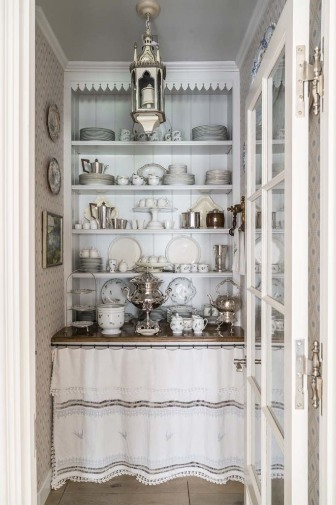 Cathy Kincaid The Well Adorned Home Dish Pantry Silver China Collection
