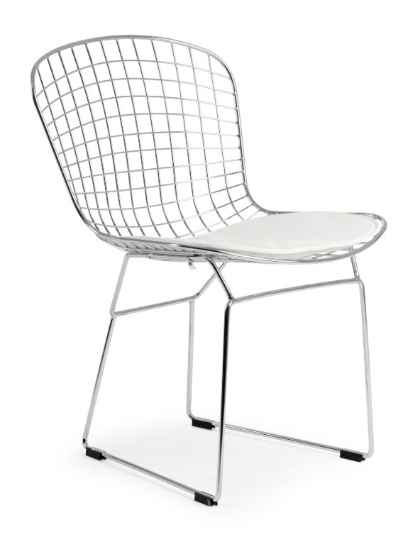 Chrome Frame Side Chair