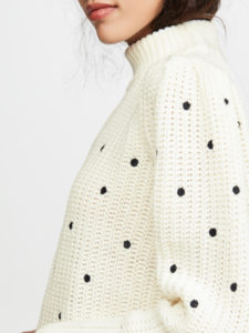 The Daily Hunt: Embroidered Dot Sweater and More!