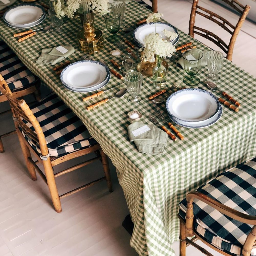 Instagram Highlights: Gingham Table Setting, Portugal, and more!