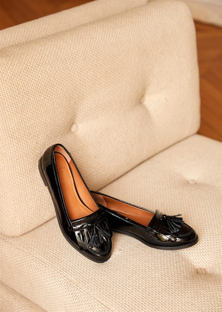 Lisa Loafers Black Patent