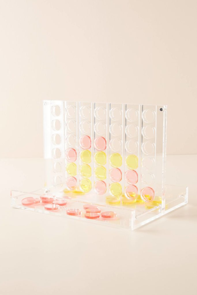 Lucite Connect Four Game