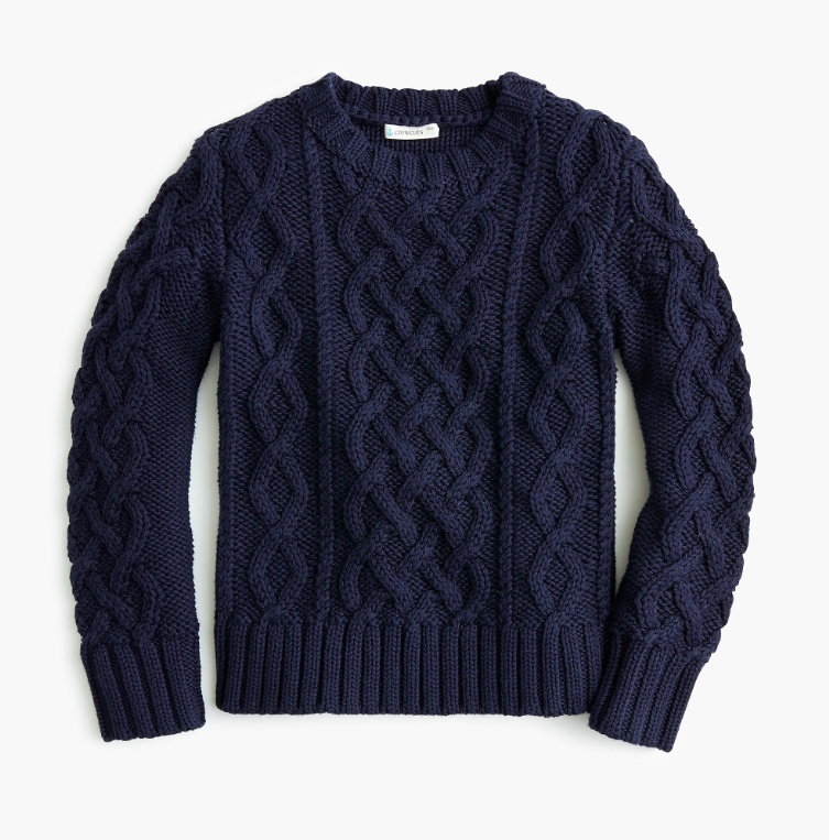 Kids' Cable-Knit Sweater