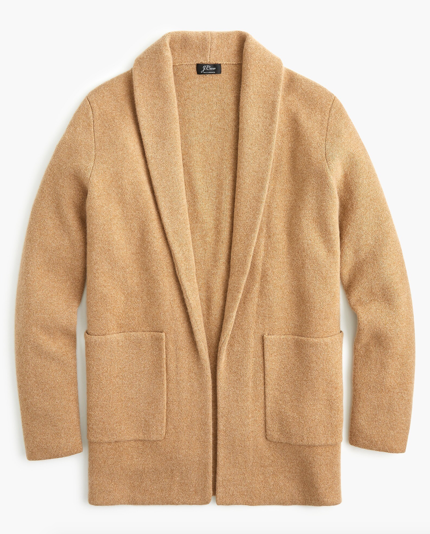 Camel Cashmere Sweater