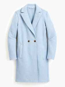 The Daily Hunt: Prettiest Pale Blue Coat and More!