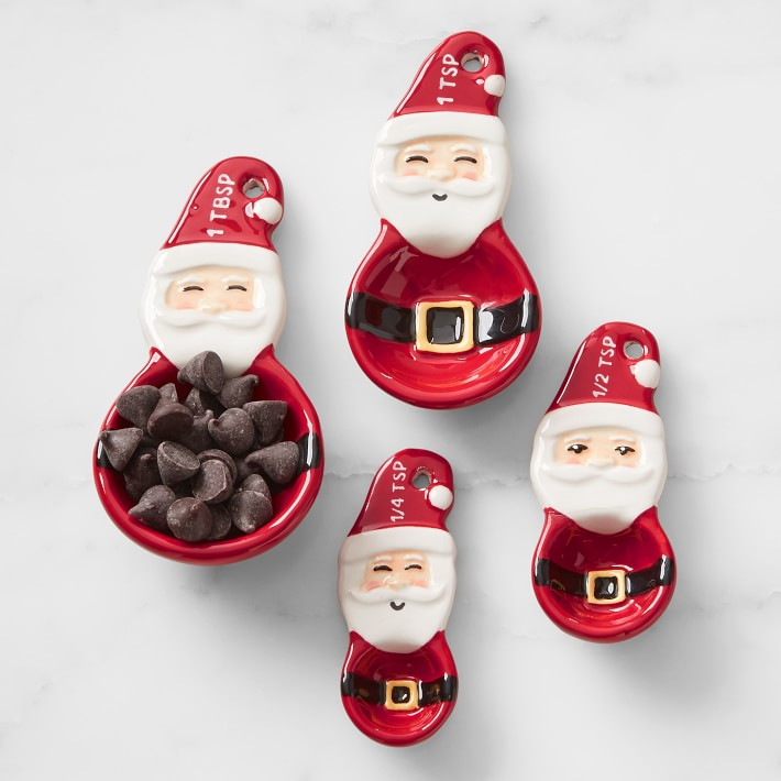 Santa Measuring Spoons