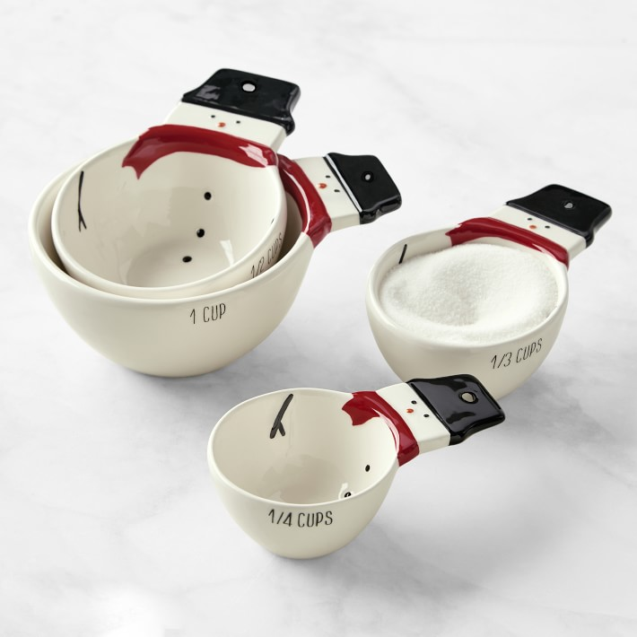 Snowman Measuring Cups