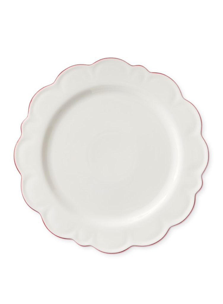 Scalloped Charger Plates