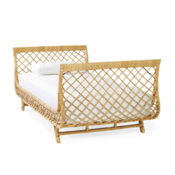 Woven Rattan Daybed