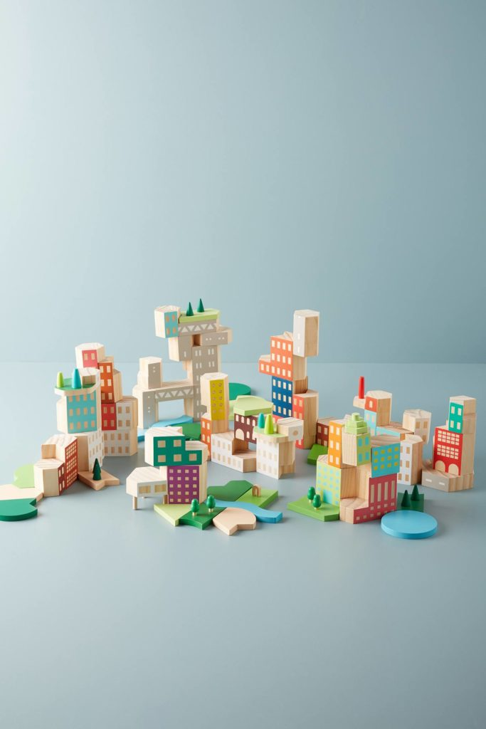 Big City Architecture Block Set