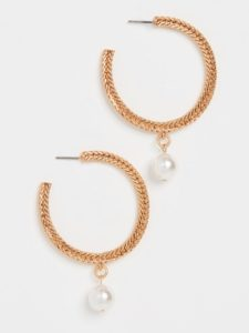 The Daily Hunt: Braided Chain Hoops and More!